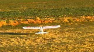 RC Model Letadla Přistání