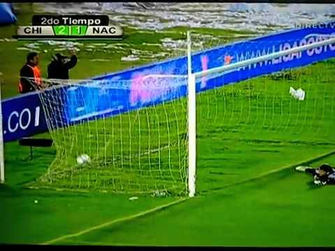 Gol de Grenddy Perozo al Atlético Nacional