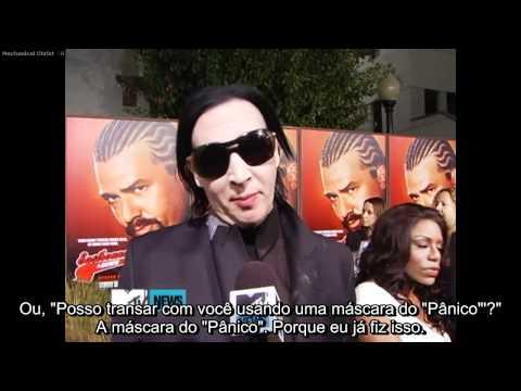"""Marilyn Manson fala sobre suas citações favoritas da série """"Eastbound and Down"""""""