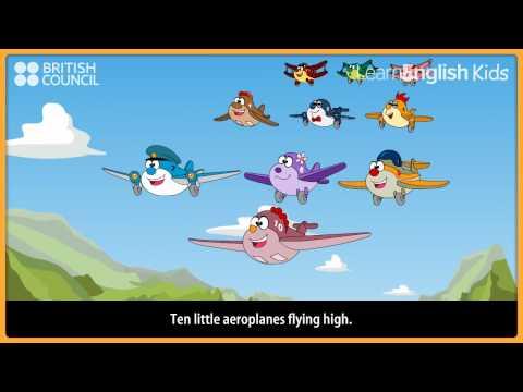 ten little aeroplanes