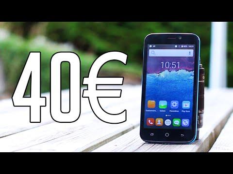 Test d'un Smartphone à 40€ !