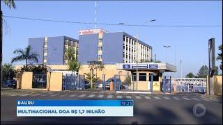 Multinacional doa R$1,7 mi para ações contra coronavírus