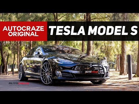 FUTURISTIC FLOW // Tesla Model S Wheels // Vossen VFS 2 Mag Wheels  | AutoCraze 2017