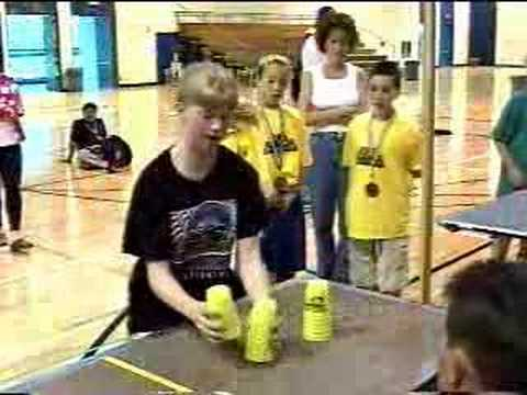 Cup Stacking World Record