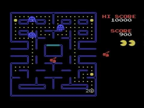 Pac-Man (1984, MSX, NAMCO)