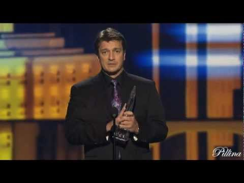Nathan Fillion (actor) - Nathan you win the Peoples Choice Awards 2013 and also makes it Castle.
