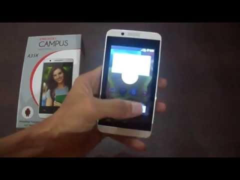 Celkon Campus A35K Insert Battery and First Boot