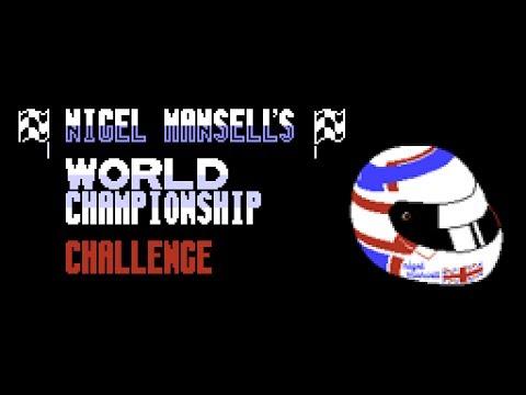 Nigel Mansell's World Championship Atari