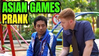Video ASIAN GAMES PRANK - REPORTER PAKAI BAHASA INGGRIS MP3, 3GP, MP4, WEBM, AVI, FLV Desember 2018