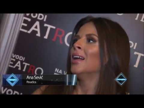 Ana je prvi put nastupala sa Darkom