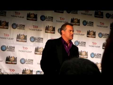 Bruce Campbell Q&A Panel Wizard World Portland Oregon Comic Con 2013 PART 1 of 2