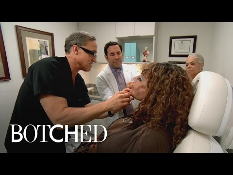 Terry Dubrow Hatches Plan to Take on Cement-Injected Face | Botched | E!
