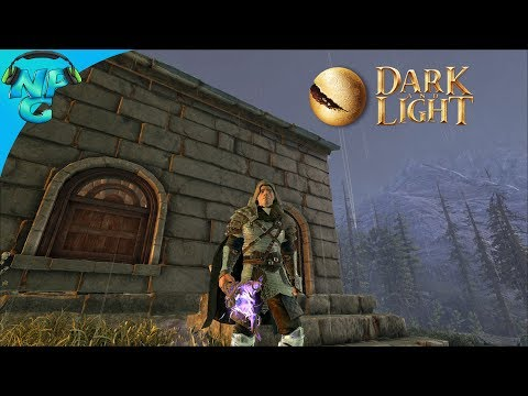 Twitch - S1E1 Streaming the Start! DARK and LIGHT - The New Magical Ark