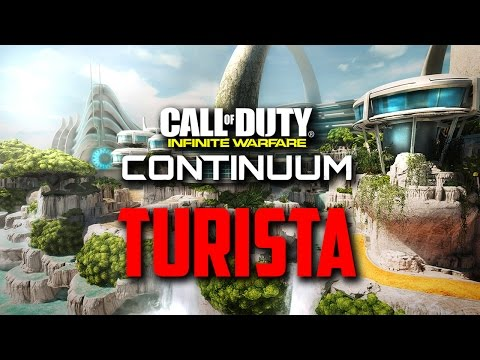 DE RESORTMAP TURISTA! - COD: Infinite Warfare (DLC 2 Continuum)