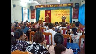 Khai giảng lớp bồi dưỡng lý luận chính trị cho đảng viên mới khóa 2-2019