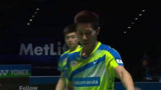 Video Yonex All England Open 2017 | Badminton QF M2-MD | Goh/Tan vs Li/Liu MP3, 3GP, MP4, WEBM, AVI, FLV September 2018