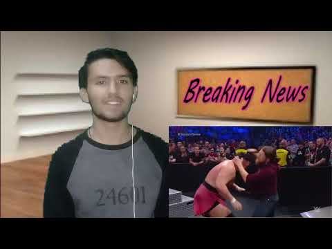Jeff Hardy Vs Samoa Joe-Winner Joins Team SmackDown At Survivor Series 6 Nov 2018 Pakistani Reaction