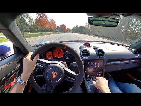 2020 Porsche 718 Cayman GT4 - POV Driving Impressions