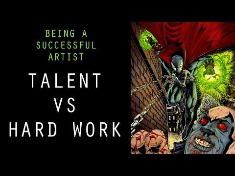 Being a Successful Artist - Talent Vs Hard Work