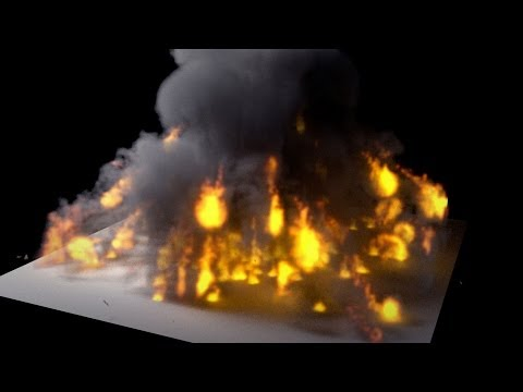 Blender 2.71 Tutorial - Cycles Smoke And Fire Explosion