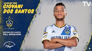 GalaxyTV caught up with the LA Galaxy's newest signing Giovani dos Santos. Want to see more from the LA Galaxy? Subscribe to our channel at ...