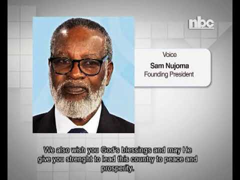 Happy birthday messages - Founding President wishes President Geingob a happy birthday -NBC