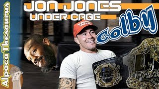 Video Why did Jon Jones Hide under the Cage? MP3, 3GP, MP4, WEBM, AVI, FLV Juni 2019