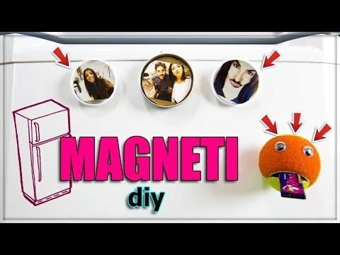 COME FARE DEI BELLISSIMI MAGNETI PER FRIGORIFERO // IDEEDIY