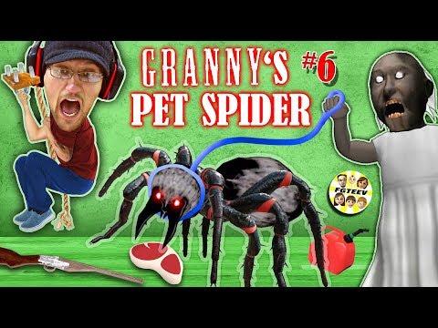 GRANNY's PET SPIDER + SECRET ROOMS w/ Annoying Baldi's Basics!! (FGTEEV Gameplay) - Thời lượng: 22 phút.