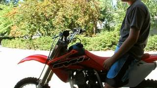 8. 2009 Honda CRF150R review
