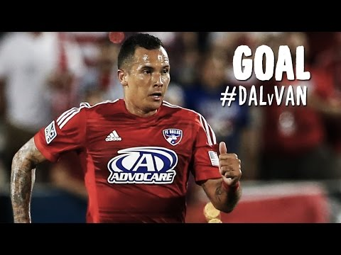 goal - Goal! FC Dallas 1, Vancouver Whitecaps 0. Blas Perez (FC Dallas) right footed shot from a difficult angle and long range on the right to the top-left corner of the goal. Subscribe to our...