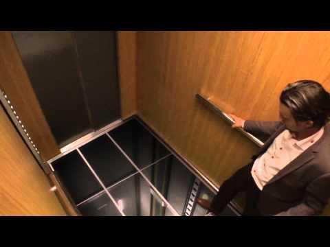 guardate che cosa succede quando entrano nell'ascensore!