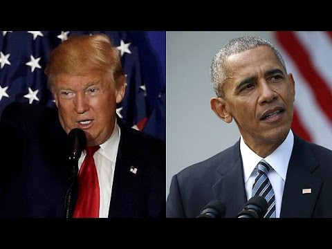 ΗΠΑ: Συνάντηση εντός της ημέρας Ομπάμα – Τραμπ στον Λευκό Οίκο