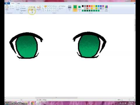 Video How I Color Anime/Manga Eyes in MS Paint [Request] download in MP3, 3GP, MP4, WEBM, AVI, FLV January 2017