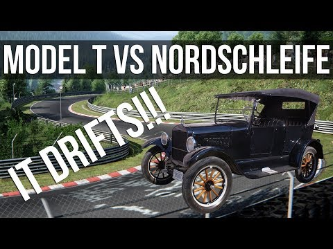 How Fast Can A 1915 Ford Model T Lap The Nordschleife?