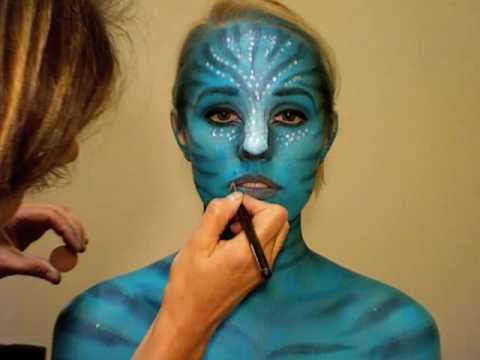 Avatar inspired Halloween tutorial with Brooke Adams
