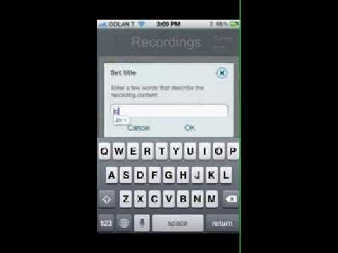 Video of Call Recorder - IntCall
