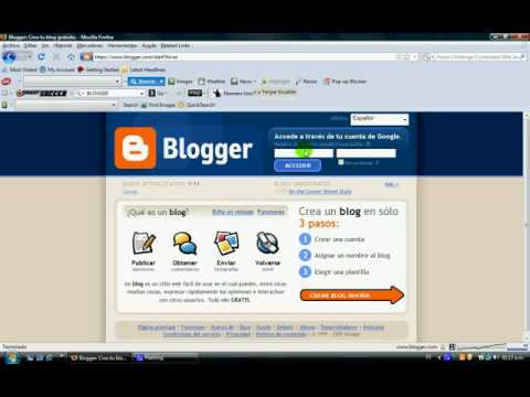 Como Hacer un Blog Optimizado en Blogger paso a paso parte 1
