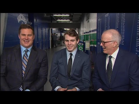 Video: After Hours: Jake DeBrusk joins father Louie