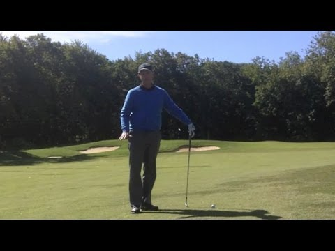 Golf Lessons – How to Play a Golf Shot with Ball Above My Feet