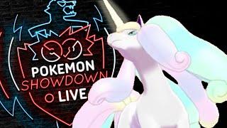Enter GALARIAN RAPIDASH! Pokemon Sword and Shield! Galarian Rapidash Pokemon Showdown Live! by PokeaimMD