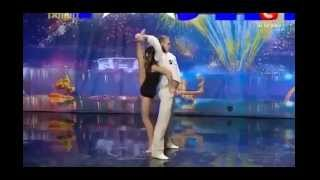 Tum hi ho - Aashiqui 2 (awesome dance) (ukrain got talent)