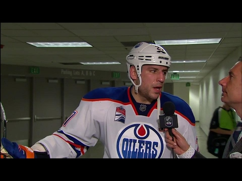 Video: Lucic: First time I've scored 3 in a period for sure
