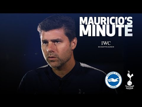 Video: MAURICIO POCHETTINO ON BRIGHTON CLASH | MAURICIO'S MINUTE