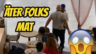 Video ÄTER FOLKS MAT | BLEV BRÅK | PRANK MP3, 3GP, MP4, WEBM, AVI, FLV September 2019