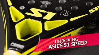 video Unboxing Pala de pádel Asics S1 Speed 2016