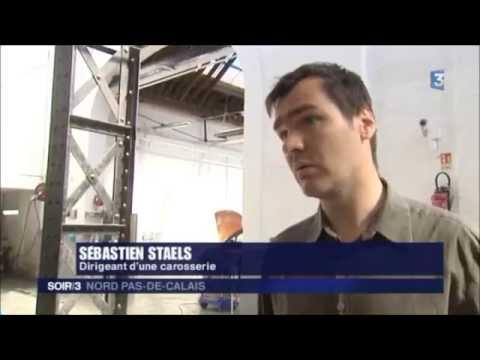 REPORTAGE FRANCE 3 Garage Carrosserie Lavoisier