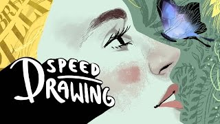 Speed Drawing: Cinderella
