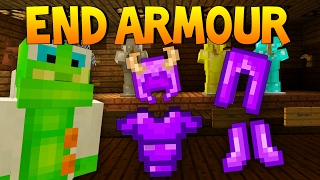 NEW MINECRAFT NETHER AND END ARMOUR ADDED | PvP AND END CITY | UPDATE TU49