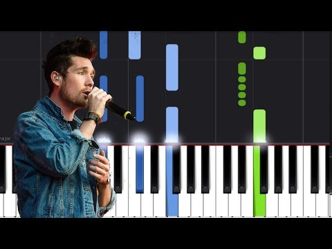 "Bastille - ""Quarter Past Midnight"" Piano Tutorial - Chords - How To Play - Cover"